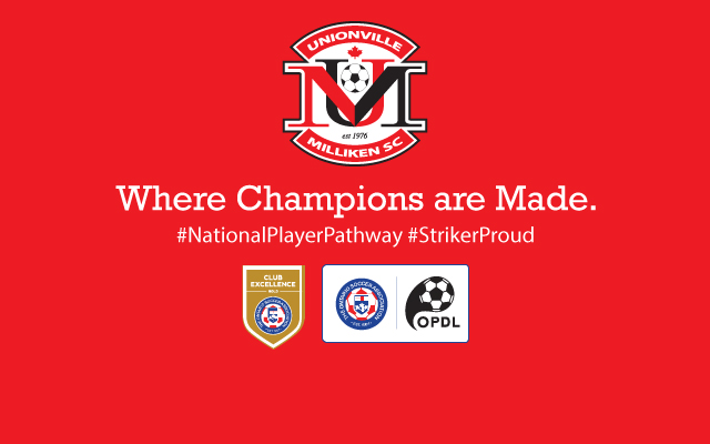 Unionville Milliken Soccer Club Logo